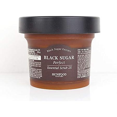 [SKINFOOD]スキンフードブラックシュガー パーフェクトエッセンシャルスクラブ2XBlack Sugar Perfect Essential Scrub 2X