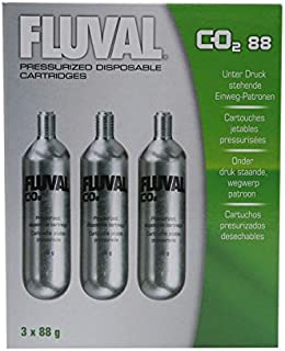 Fluval 88g-CO2 Disposable Cartridges - 3-Pack