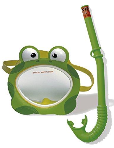 Intex Kinder Taucherset Bestehnd Schnorchel Froggy Fun Phthalates Free, 55940