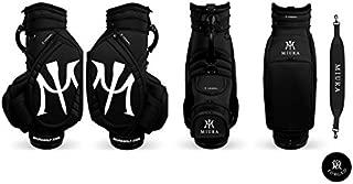 Miura Golf Limited Bag Tour Bag Black Collaboration with Vessel Golf 2018