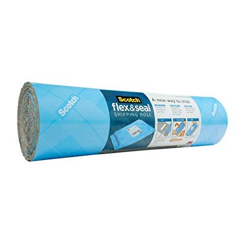 スコッチ フレックス アンド シール プチプチ 梱包材 ロール ガムテープ不要 380mm×3m FS-1510