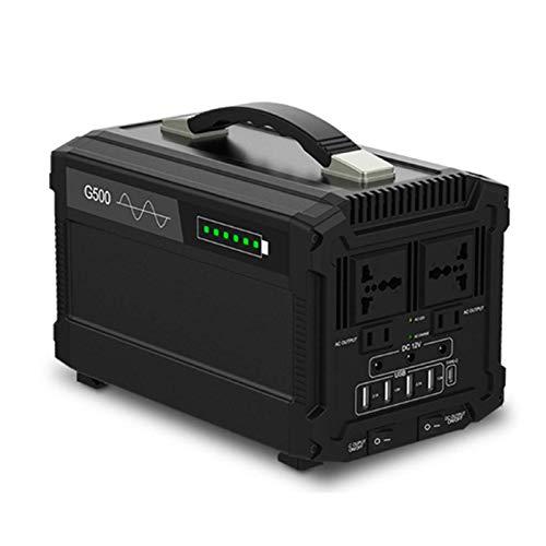 All-Purpose Generador Inverter 444Wh Generador Portátil Solar Carga con AC Salida de...