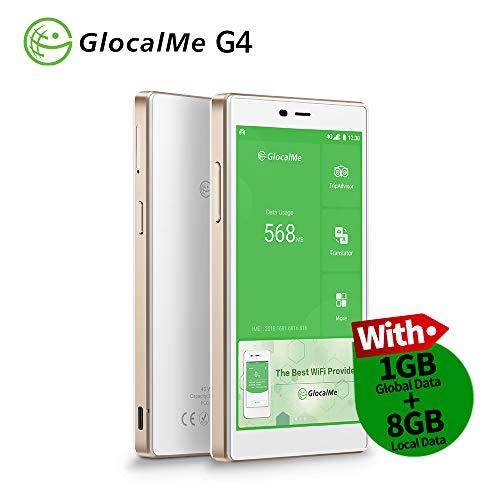GlocalMe G4 Mobiler WLAN-Hotspot weiß weiß