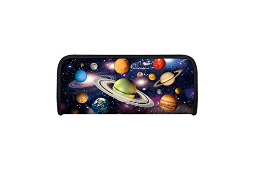 Idena 23919 - Faulenzer 3D-Optik, Motiv Weltraum, 1 Fach, Größe 21 x 9 x 4,6 cm, 1 Stück