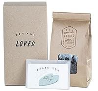 [Amazon限定ブランド] 父の日 プレゼント メッセージカード ode フェアトレード オーガニック ウガンダ コーヒー豆 ギフト (メッセージカード付き 200g)