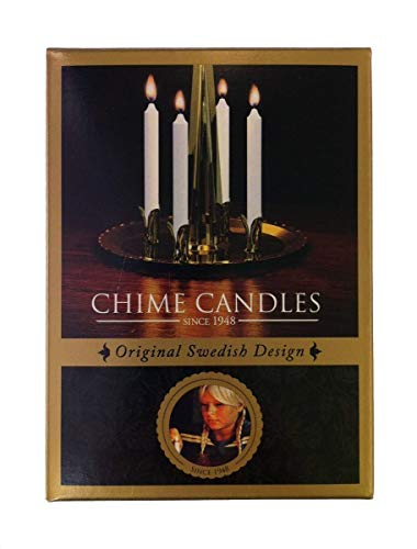 Angel Chime Candles Replacements - 20 White Candles or the Original Swedish Angel Chimes