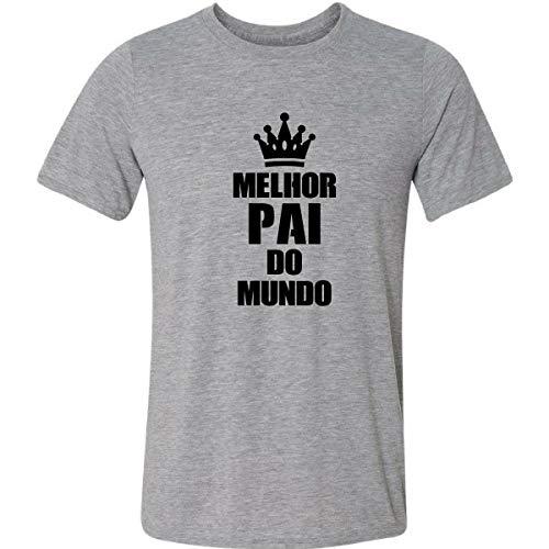 Camiseta Melhor Pai do Mundo Presente Pais Filho