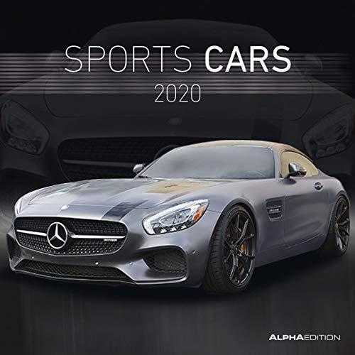 Sports Cars 2020 - Broschürenkalender (30 x 60 geöffnet) - Wandkalender - Sportwagen - Autokalender - Fahrzeuge - Wandplaner