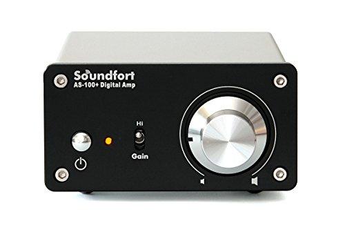 『Soundfort 小型高音質デジタルアンプ AS-100+』の1枚目の画像