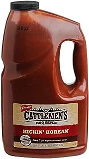 Cattlemen's Kickin' Korean BBQ Sauce, 1 gal
