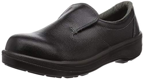 [シモン] 安全靴 短靴 スリッポン 7517 メンズ 黒 25.5