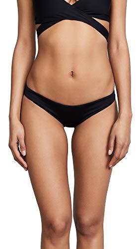 LSpace Women's Sandy Classic Bikini Bottoms, Black, Medium