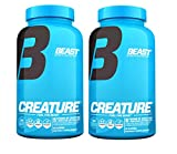 Beast Sports Nutrition Creature Creatine Complex 180 Capsules (2 Pack)