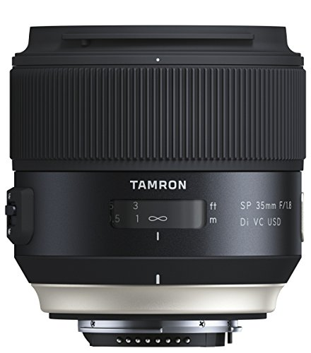 Tamron 35mm F/1.8 VC Obiettivo per Nikon, Nero