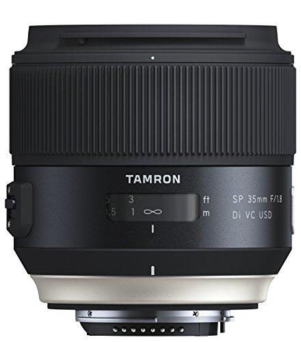 Tamron SP45mm F/1.8 Di VC USD Nikon Objektiv (67mm Filtergewinde, fest) schwarz