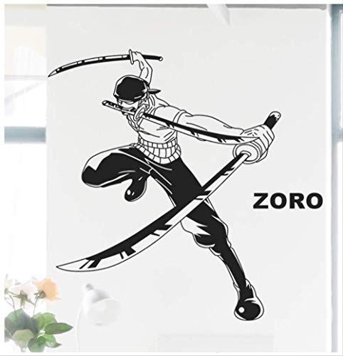 Vinilo Para Pared Etiqueta De La Pared Roronoa Zoro 80x93cm