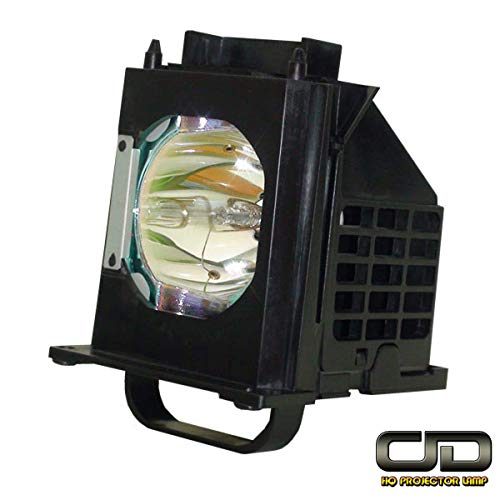 CJD Rear Projection TV Replacement Lamp 915B403001 with Housing for Mitsubishi WD-60735, WD-60737, WD-65737, WD-73737, WD-82837, WD-73735, WD-82737, WD-65736