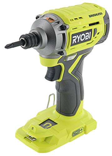 Ryobi P239 18V Lithium Ion Brushless Cordless 2,000 Inch Pound Impact Driver w/ Magnetic Bit Tray and LED Lighting (Battery Not Included / Power Tool Only)