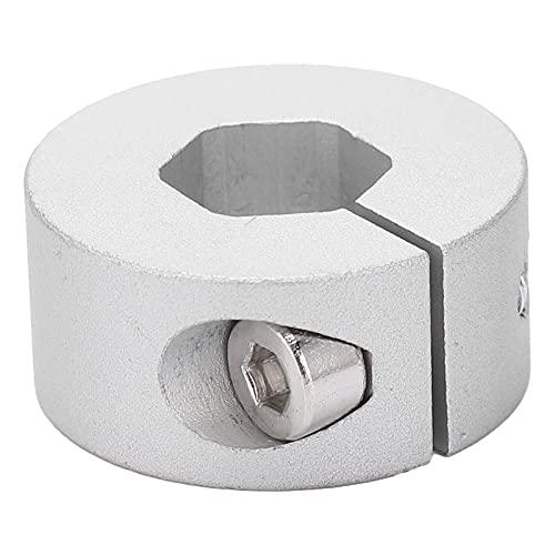 ASHATA Collar de sujeción 4910-1026-4012 Collar de sujeción de Eje Hexagonal de 12 mm Collar de sujeción de sujeción Collar de sujeción