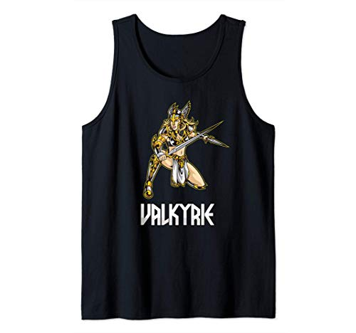 Valkyrie - Chooser Of The Slain - Norse Mythology Tank Top