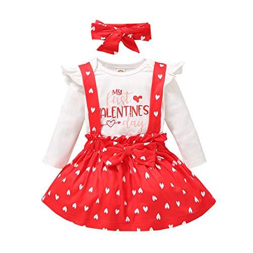 Trajes para bebé recién nacido, para el día de San Valentín, para mamá y papá, con estampado de letras, manga larga, bonito mameluco para 0 a 3 años