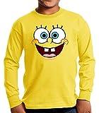Camiseta Manga Larga de NIÑOS Bob Esponja Calamardo Spongebob 003 5-6 años