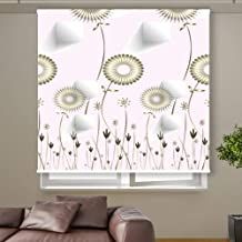 3D Roller Curtain Flowers 150 * 200 cm 9927, Multi Color, Mixed Material