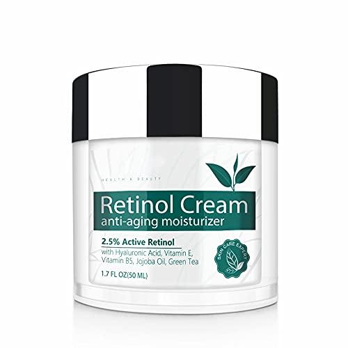Crema Facial Retinol,IFUDOIT Crema Hidratante...