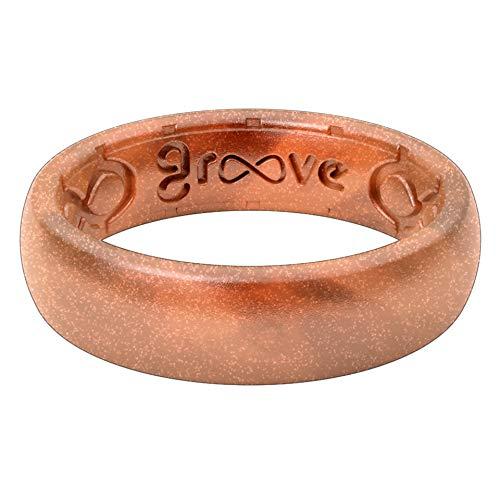 Metallic groove life rings