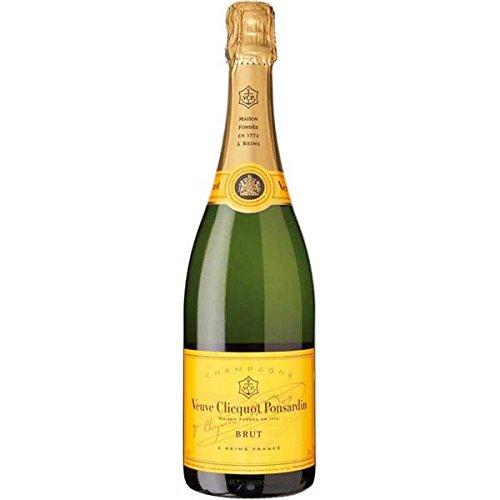 Veuve Clicquot Brut Yellow Label 75cl Champagne (en Caja de Regalo) (Pack de 6 x 75 cl)