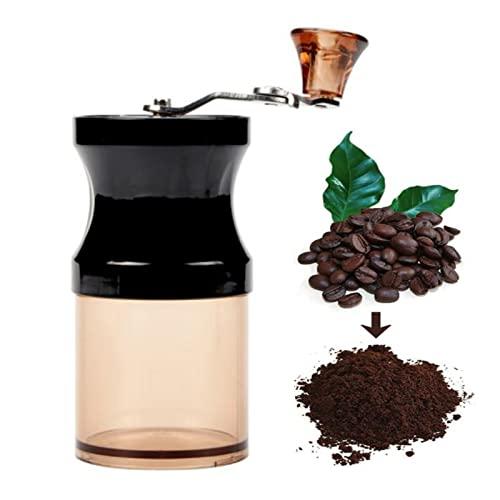 Ręczny młynek do korby, młynek do kawy, filtr ceramiczny, przenośny ekspres do kawy Mini Home, młynek do kawy i przypraw z ceramicznymi zadziorami, do domu, podróży i kempingu