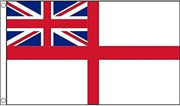 AZ FLAG Bandera de la Marina Real BRITANICA 150x90cm - Bandera DE LA Royal Navy - UK 90 x 150 cm