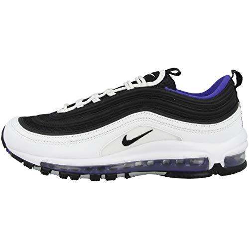 Nike Air Max 97, Scarpe Running Uomo, Multicolore (White/Black-Persian Violet 103), 38.5 EU