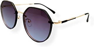 Farben Asymmetrical Frameless Sunglasses 2233-C1