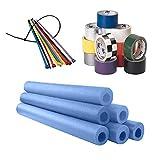 Foam Roll Bar/Cage Padding Installation Kit, Blue