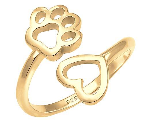 Nenalina Ring Damen Silberring 18 K Vergoldet Verstellbar, gebraucht gebraucht kaufen  Wird an jeden Ort in Deutschland