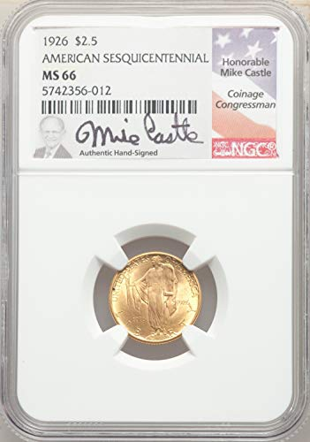 1926 Gold Commemorative Other MS66 NGC