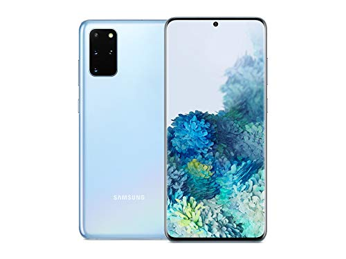Samsung Galaxy S20+ 5G Factory Unlocked Android Cell Phone   128GB of Storage   Cloud Blue (Renewed)
