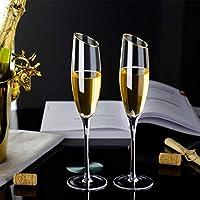 Yuansr ワイングラス2のセットの2、ハンドブロウのクリスタルレッド&ワイングラスベベルマウス鉛フリーギフトボックス、結婚式、記念日、クリスマス、そしてあらゆる機会への完璧な贈り物 (Size : Style 2)