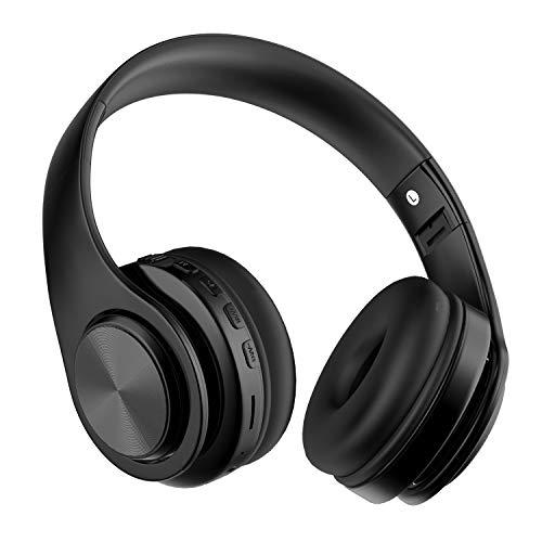 Auriculares Bluetooth Inalambricos de Diadema, Casco Diadema Bluetooth 5.0 Plegables con HiFi Sonido...