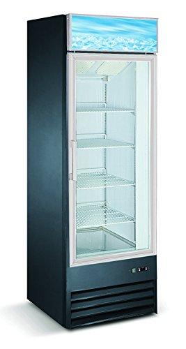 Single Door Upright Display Freezer - D368BMF