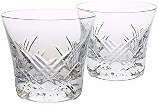 Baccarat Crystal Stella Whiskey Glasses Set of 2 - Two Tumblers, # 3, 2807356, Crystal Old Fashion, STELLA In the sky with...