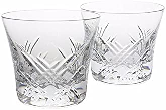 Baccarat Crystal Stella Whiskey Glasses Set of 2 - Two Tumblers, # 3, 2807356, Crystal Old Fashion, STELLA In the sky with diamonds. France