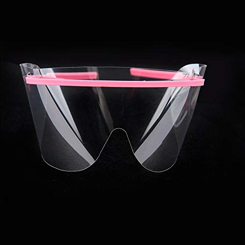20 Sets Disposable Dental Eye Shield Safety Glasses Mask Eyes Guard 20 Frame with 20 Shield/Set
