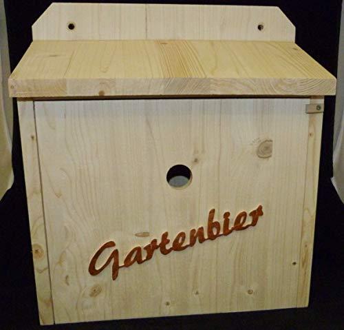 Vogelhaus Bierbar Gartenbier aus Holz Garten Geschenk