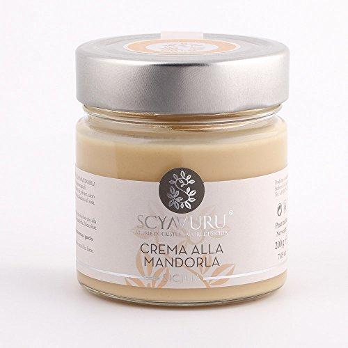 Mandelaufstrich mit sizilianischer Mandel. Italienische Gourmet Spezialitäten (200g)