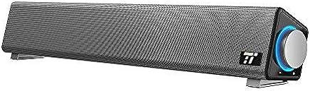TaoTronics Soundbar per Computer Cablata USB con Ampia Compatibilità Altoparlante PC con Ingresso Microfono e Uscita Cuffie per PC/Tablet/Proiettori la Casa e per l'Ufficio - Confronta prezzi