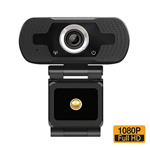 1080P Webcam HD USB Computer Camera with Microphone Pro Streaming Web Cam for PC Mac Laptop Video Calls Games