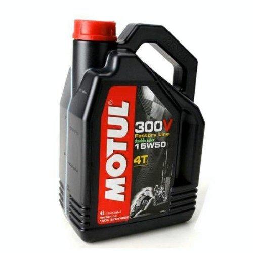 Price comparison product image MOTUL 15W50 300V MOTORCYCLE OIL DOUBLE ESTER 4 LITER BOTTLE