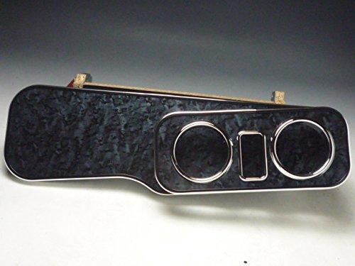 数量限定 QNC系bB フロントテーブル ブラックウッド 携帯ホルダー中央 ブラックフルメッキ